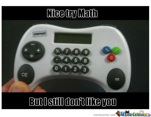 nice try math