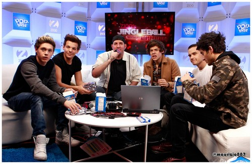 one direction,Z100 Artist Gift Lounge, 2012