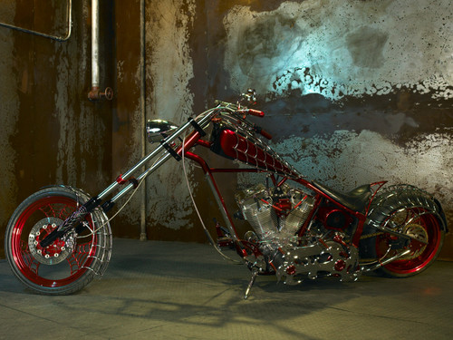 Orange County Choppers wallpaper entitled paul jr and bike