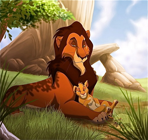 The Lion King wallpaper titled scar and simba