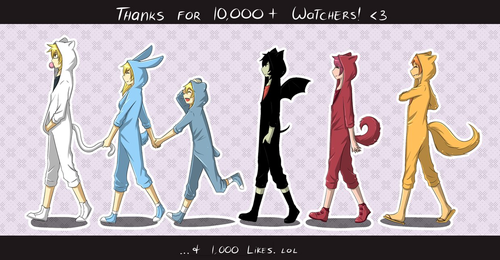 thanks for 10k watchers