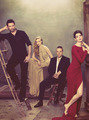 the cast + director of les miserables for the hollywood reporter - hugh-jackman fan art