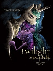 Harry Potter Vs. Twilight wallpaper with anime called twilight sparkle