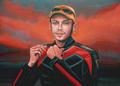 valentino rossi portrait