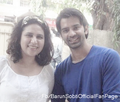 with fans - barun-sobti photo