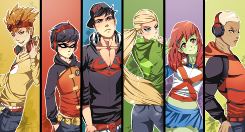in young justice wallpaper containing anime titled young justice