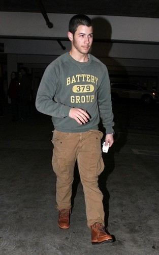Arriving at ArcLight Cinemas in Los Angeles 12/19