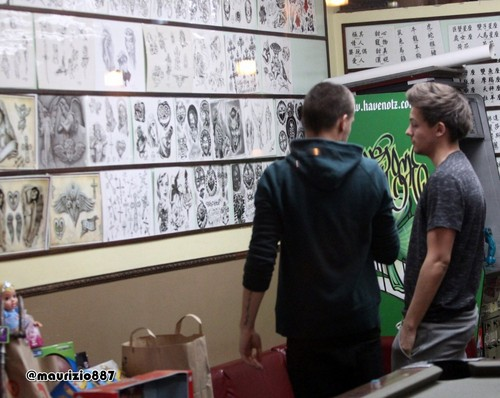 Liam Payne, Louis tattoo, 2012