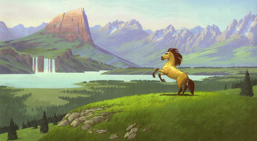 ★ Spirit Stallion of the Cimarron ~ concept art ☆