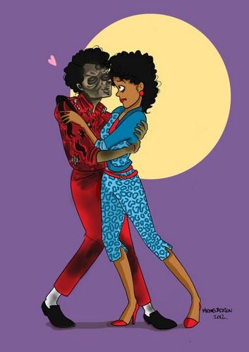 """Zombie Date"" por Michiie Jackson on Deviant Art"