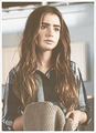 ∞ lily.. - lily-collins fan art
