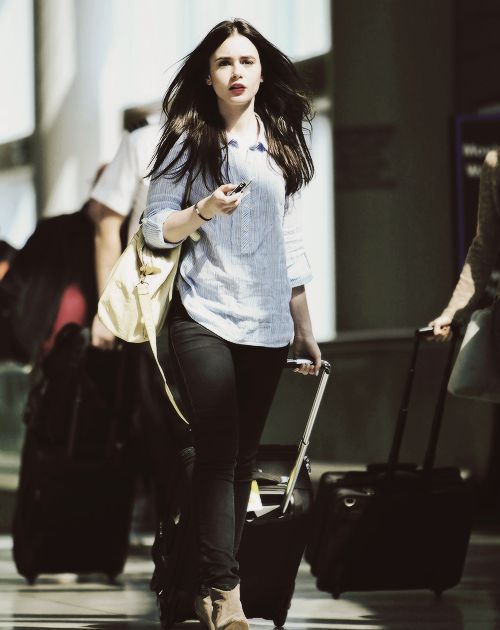 lily.. - Lily Collins ...