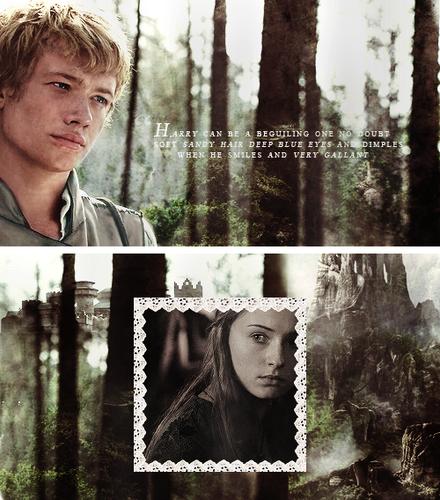 Sansa &Harry the Heir