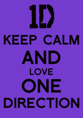 1D Keep Calm
