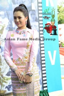 Thet Mon Myint wallpaper with a portrait called 2011 Myanmar Academy Ceremony
