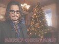 2012 Johnny Depp Merry Christmas - johnny-depp wallpaper