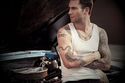 Adam Levine wallpaper possibly with an internal combustion engine and a sign entitled Adam Levine
