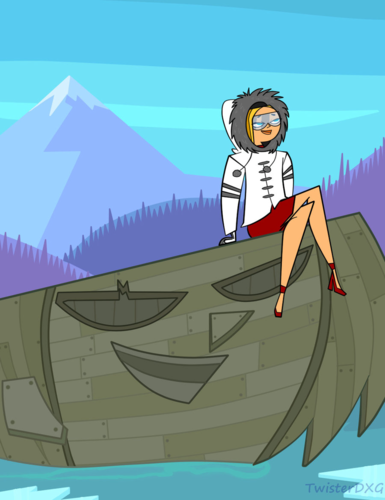 Adrift castaway