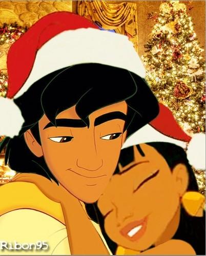 Aladdin/Chel Christmas