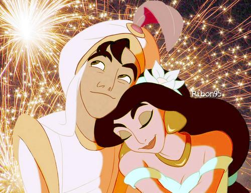 Aladdin / jasmijn - Happy New Year!