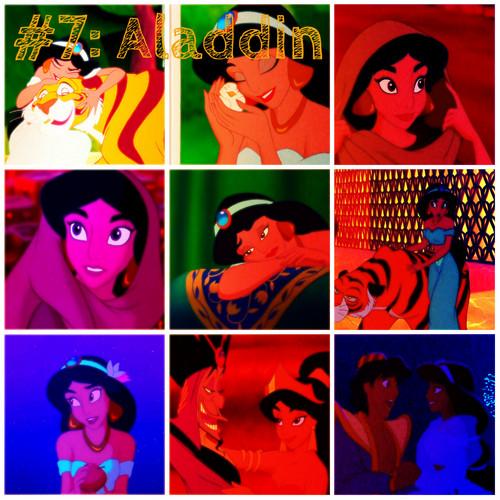 Aladdin collage