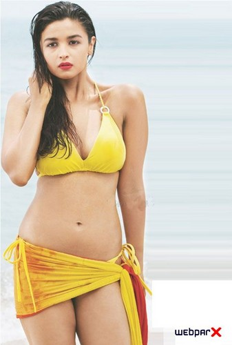Alia Bhatt wallpaper containing a bikini entitled Alia Bhatt Bikini Photoshoot