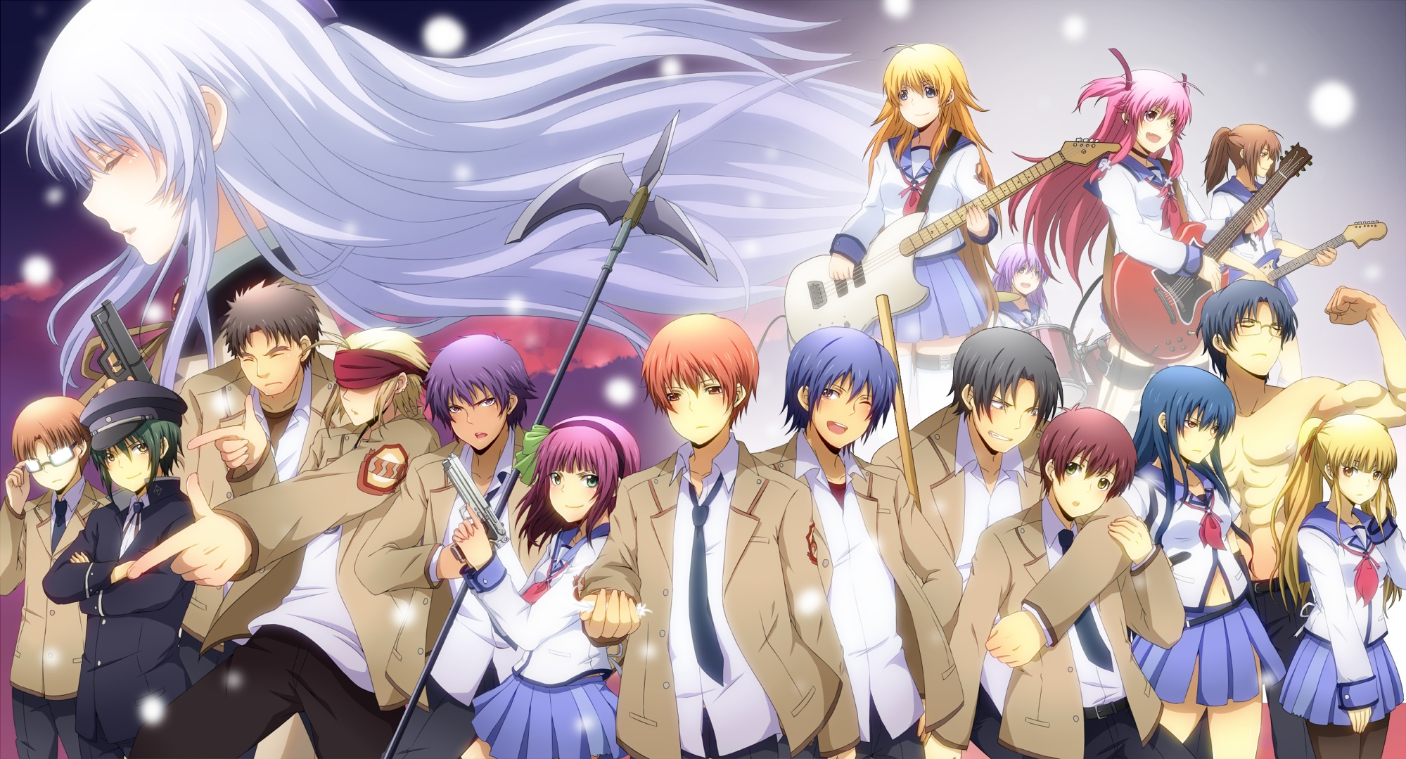 angel beats angel beats photo 33121741 fanpop