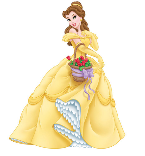 putri disney wallpaper with a bouquet entitled Another Belle pose