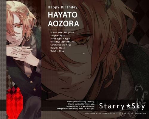 Aozora Hayato Birthday 2012