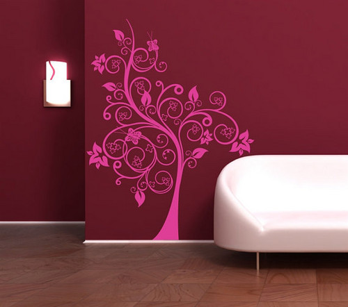 Arbor Magic پھول دیوار Sticker