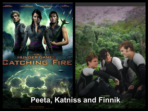 Catching Fire wallpaper probably with anime titled Arena