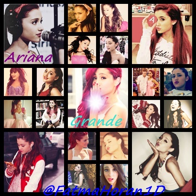Ariana Grande hình nền with a stained glass window titled Ariana Grande Montage
