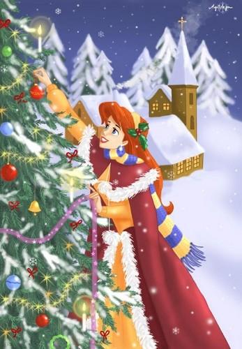 Ariel in giáng sinh