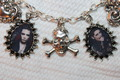 BVB bracelet and earrings