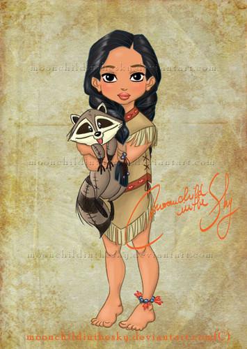 Baby Pocahontas