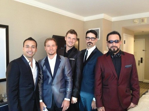 The Backstreet Boys 바탕화면 containing a business suit and a suit entitled Backstreet Boys