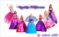 Barbie Princess line up - barbie-princess photo
