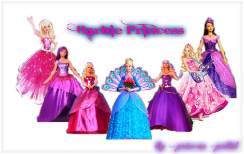 Barbie Princess line up