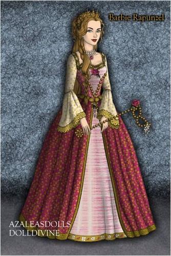 barbie as Rapunzel - 4