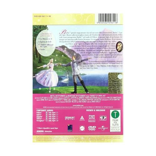 barbie of angsa, swan Lake - DVD (Italian version)