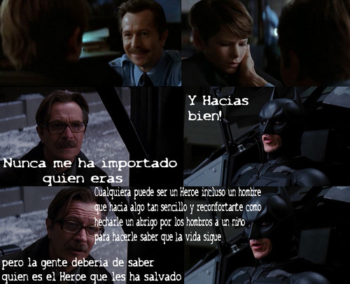 Batman & Jim Gordon (Best Scene) - Spanish Version