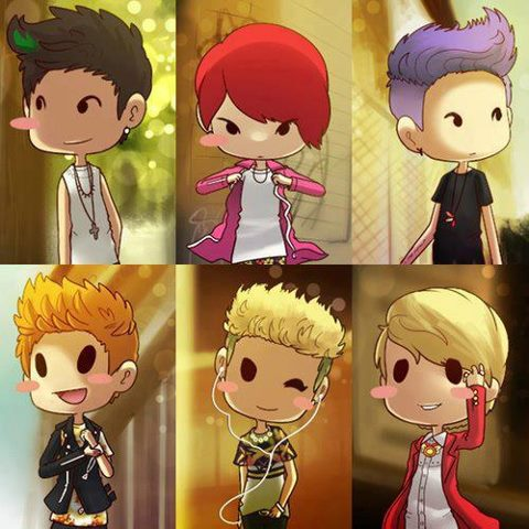 B2ST/BEAST images Beast-Chibi wallpaper and background ...