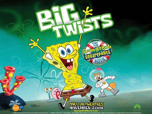 Spongebob Squarepants achtergrond with anime called Big Twists