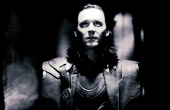 Black and white Loki