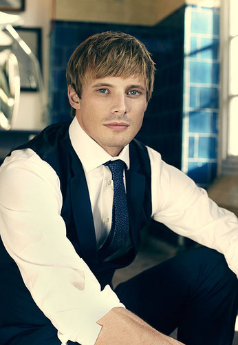 Bradley James wallpaper probably with a business suit entitled Bradley