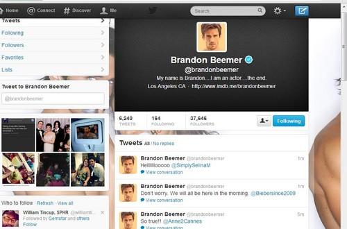 Brandon Beemer tweet to me.