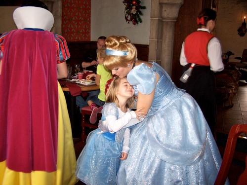 Brianna with Cinderella