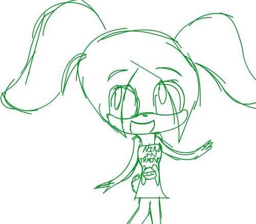 Bunny Sketch x3