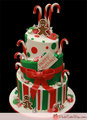 Candy Cane cake - christmas photo