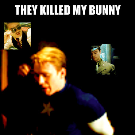 Cap's bunny was killed